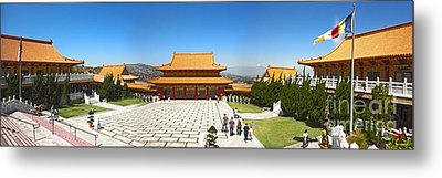 Hsi Lai Temple - 09 Metal Print by Gregory Dyer