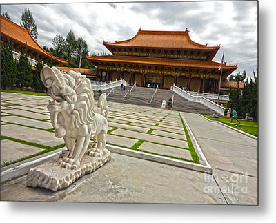 Hsi Lai Temple - 05 Metal Print by Gregory Dyer