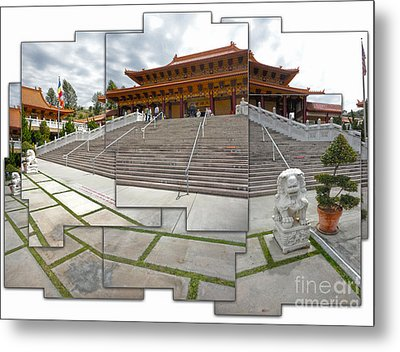 Hsi Lai Temple - 06 Metal Print by Gregory Dyer