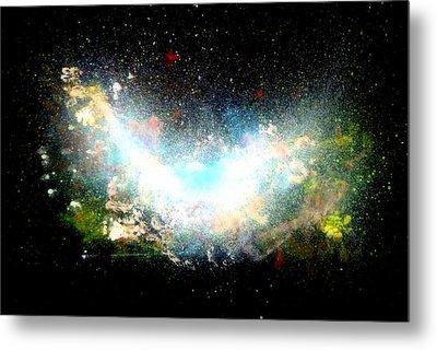 Hubble Birth Of A Galaxy Metal Print