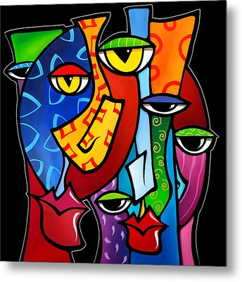 Huddle Up By Fidostudio Metal Print by Tom Fedro - Fidostudio