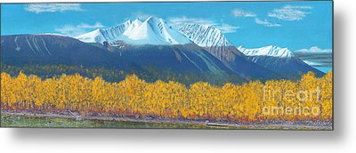 Hudson Bay Mountain Metal Print