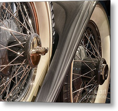 Hudson Spare Tire Metal Print by JRP Photography