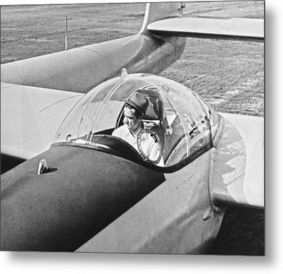 Hughes New Fx-11 Plane Metal Print by Underwood Archives