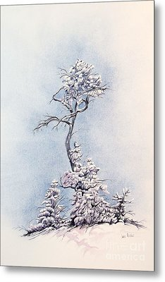 Hula Tree Metal Print by Dan Riddle