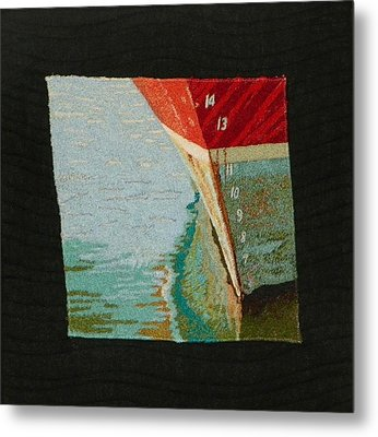 Waterline Metal Print by Jenny Williams