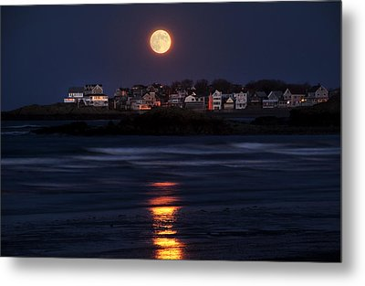 Hull Moonshine Metal Print
