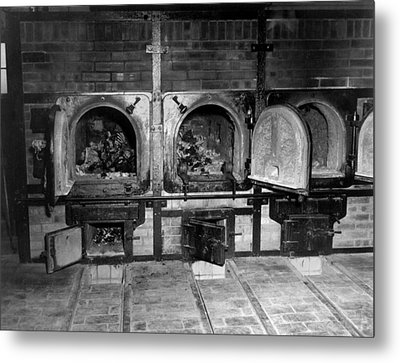 Human Bones In The Crematorium Metal Print by Everett