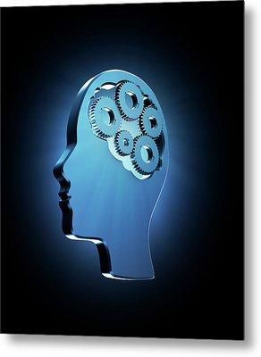 Human Intelligence Metal Print by Andrzej Wojcicki