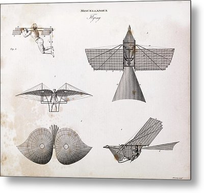 Human-powered Flight Metal Print