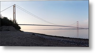 Humber Bridge Panorama Metal Print
