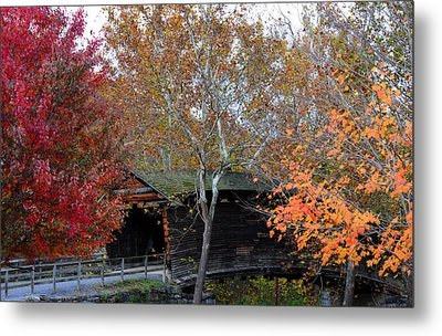 Metal Print featuring the photograph Humpback Bridge by Cathy Shiflett