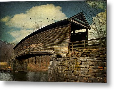 Humpback Bridge IIi Metal Print by Kathy Jennings