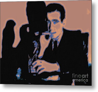 Humphrey Bogart And The Maltese Falcon 20130323m88 Metal Print by Wingsdomain Art and Photography