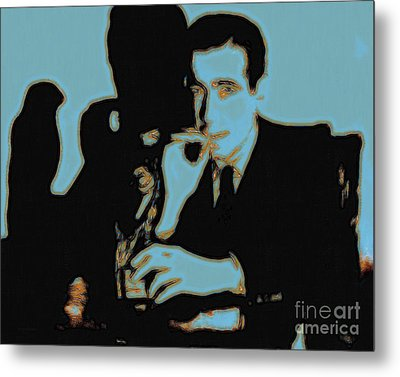 Humphrey Bogart And The Maltese Falcon 20130323p88 Metal Print by Wingsdomain Art and Photography