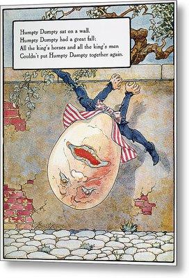 Humpty Dumpty, 1915 Metal Print
