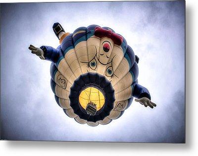 Humpty Dumpty Hot Air Balloon Metal Print