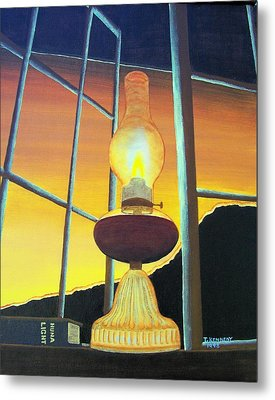 Huna Light Metal Print