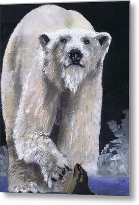 Hungry Hunter Metal Print