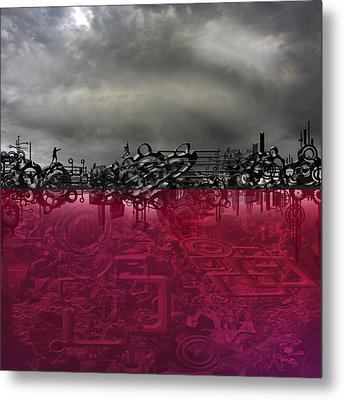 Hunted Metal Print by Andy Walsh