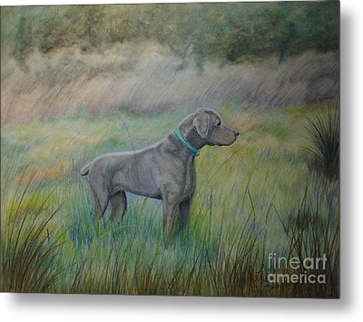 Hunter Metal Print by Laurianna Taylor