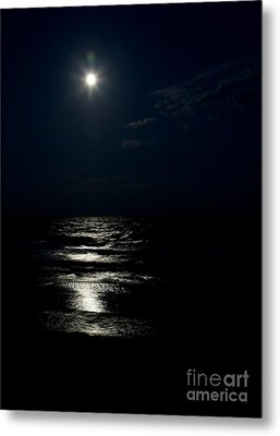 Hunter's Moon II Metal Print by Michelle Wiarda