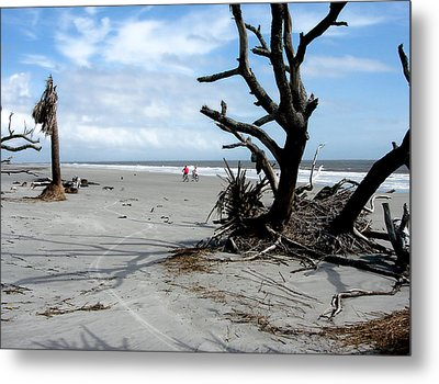 Metal Print featuring the photograph Hunting Island - 5 by Ellen Tully