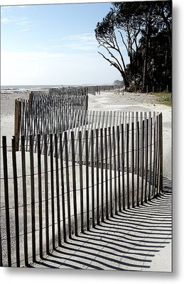 Metal Print featuring the photograph Hunting Island - 6 by Ellen Tully