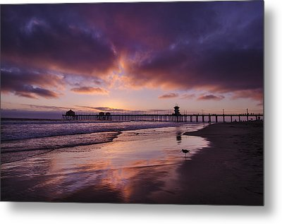 Huntington Beach California Metal Print