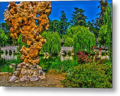 Huntington Gardens Ca Metal Print