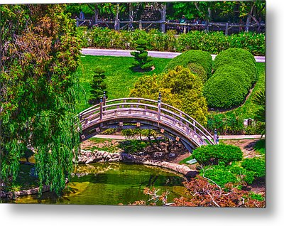 Huntington Library Ca Metal Print