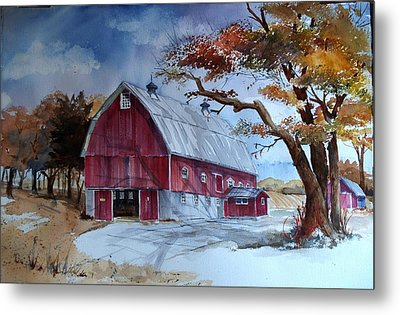 Huntley Farm Metal Print
