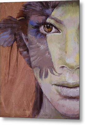 Huntress Metal Print by Michael Creese