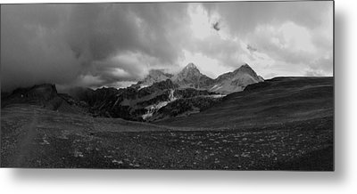 Hurricane Pass Storm Metal Print