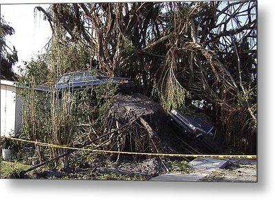Hurricane Wilma Revenge In Pompano Beach  Metal Print