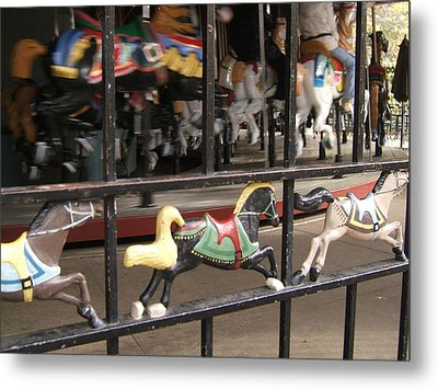 Metal Print featuring the photograph Hurry Hurry by Barbara McDevitt