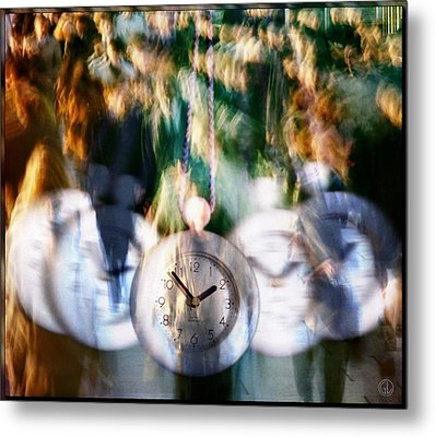 Hurry Hurry Metal Print by Gun Legler