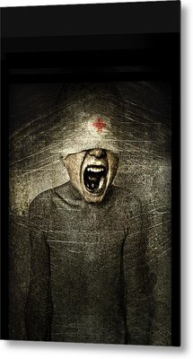 Hurt Metal Print by Johan Lilja