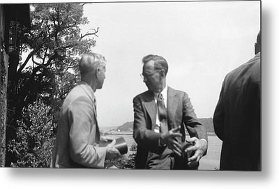 Huskins And Schrader Metal Print by American Philosophical Society