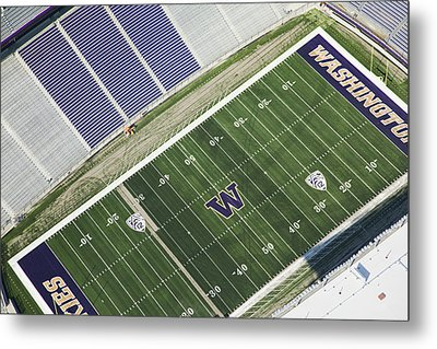 Husky Stadium At The University Metal Print