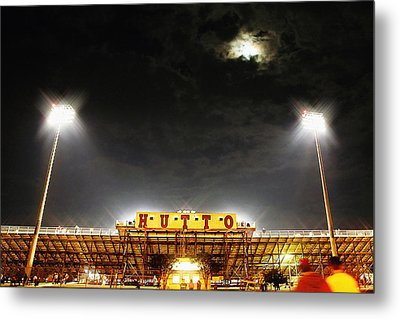 Hutto Hippo Stadium Metal Print by Trish Mistric