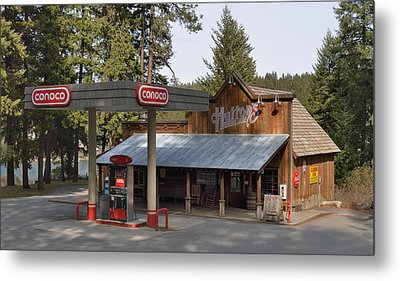 Huttons General Store Metal Print