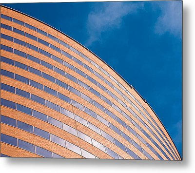 Hyatt Regency Arc Metal Print