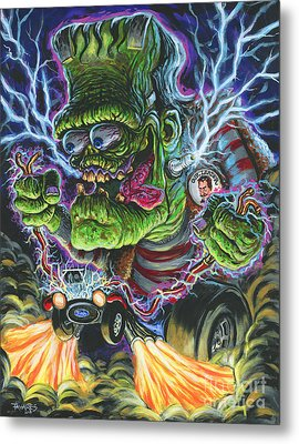Hybrid Fink Metal Print by Mark Tavares