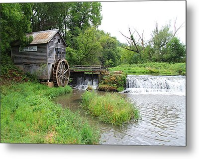 Hyde Mill Metal Print by John Kunze