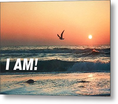 The Great I Am  Metal Print