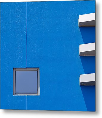 I Am Blue Metal Print by Mihai Florea