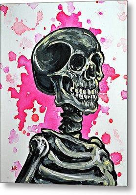 I Am Dead Inside  Metal Print by Ryno Worm  Tattoos