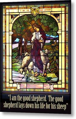 I Am The Good Shepherd Metal Print