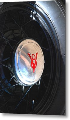 I Could Have Had A V8 Metal Print by T C Brown